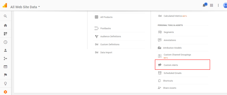 How To Use Custom Alerts in Google Analytics